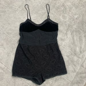 Kimchi Blue Urban Outfitters Black romper
